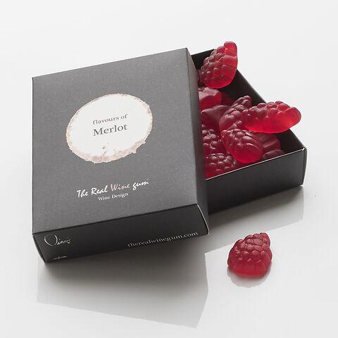 The Real Wine Gum Merlot 50g