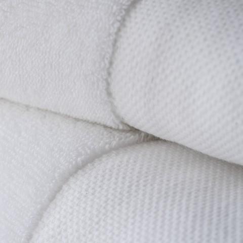 Torquato WHITE Badetuch Weiß 95 x 180 cm