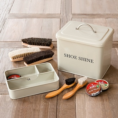 The Leckonfield Shoe Shine Box