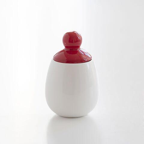 Egg Coddler Weiß/Rot 125 ml