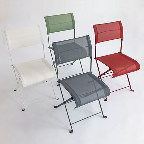 klappstuhl dune von fermob. Black Bedroom Furniture Sets. Home Design Ideas