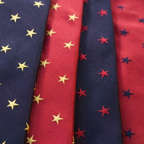 LACO Krawatten mit Sternen