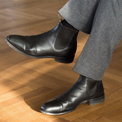 R.M. Williams Chelsea Boots Leather black