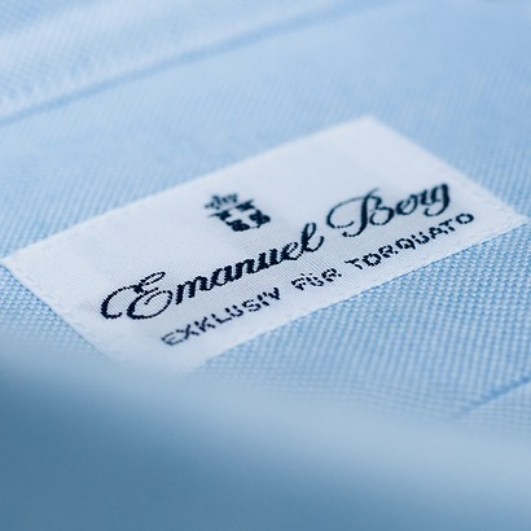 Emanuel Berg Oxfordhemd hellblau