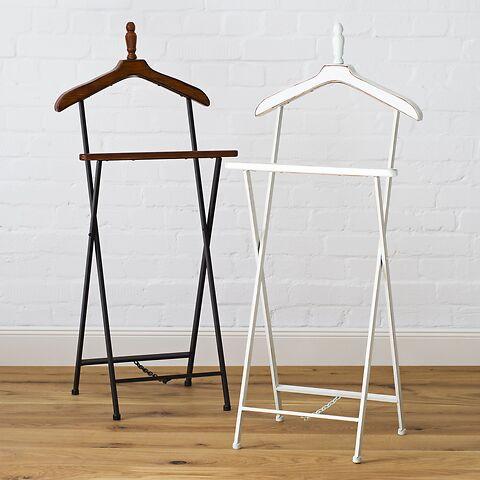 schlichter stummer diener bei kaufen. Black Bedroom Furniture Sets. Home Design Ideas