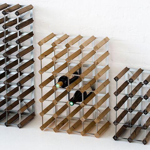 regal f r 30 flaschen wein jetzt bei kaufen. Black Bedroom Furniture Sets. Home Design Ideas