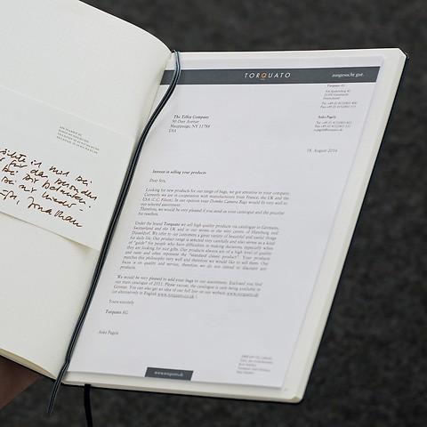 Notizbuch A4+ Master Slim Liniert