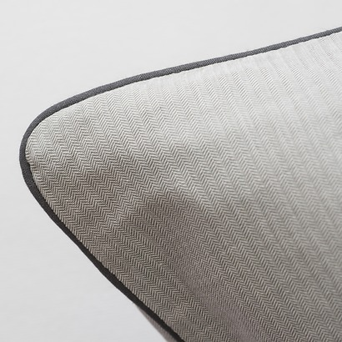 Torquato Kissenbezug Herringbone 80 x 80 cm