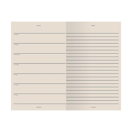 Treuleben: Kalender WEEKLY