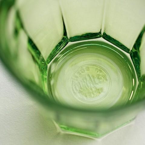 Picardie Gläser bunt