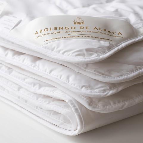 Alpaka-Bettdecke
