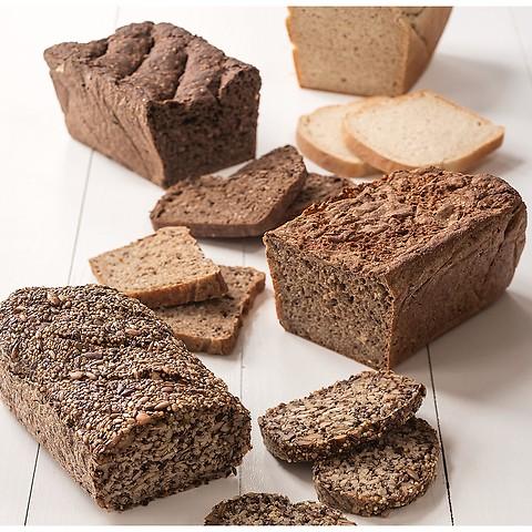Bio Brotbackmischungen