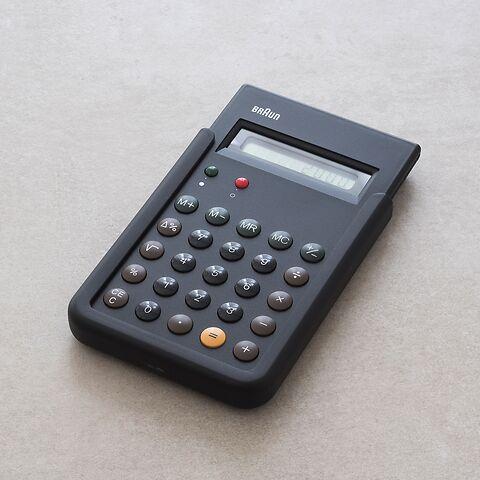 Braun Taschenrechner Bne001 Bei Torquatode