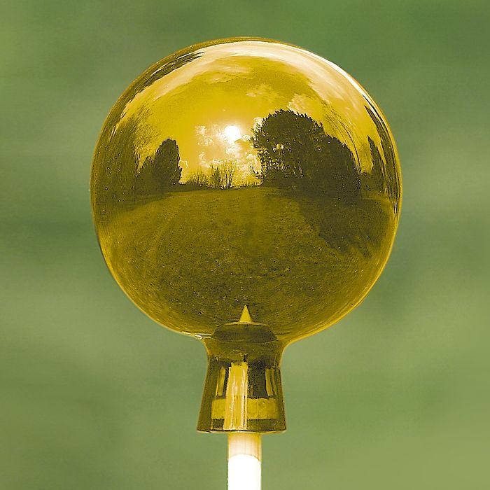 Goldene Rosenkugel Lauscha