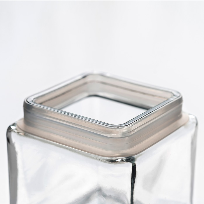 Vorratsglas Quadrat 1,4 l