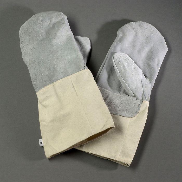Backhandschuhe mit Stulpen