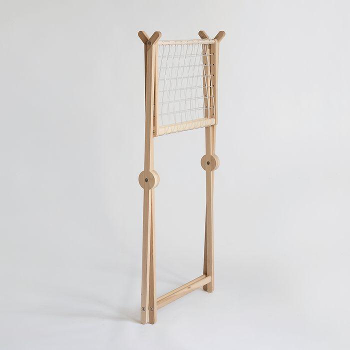 Wäscheständer aus Holz