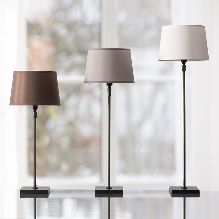Tischleuchte  S (43 cm) Schwarz
