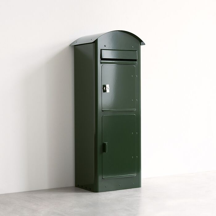 Briefkasten Safepost 80 Grün