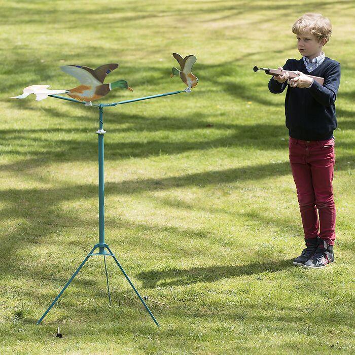 Enten-Schießspiel