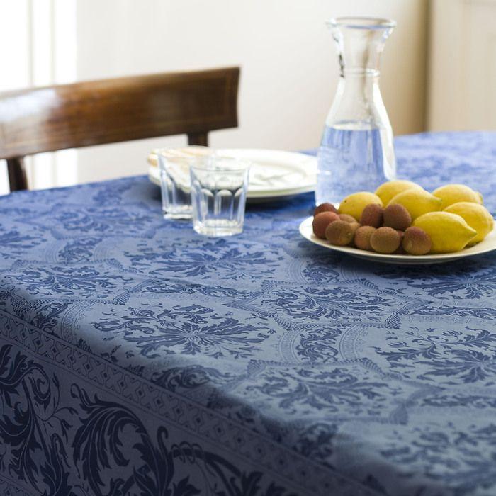 Tischtuch Topkapi blau L 170 x 265 cm