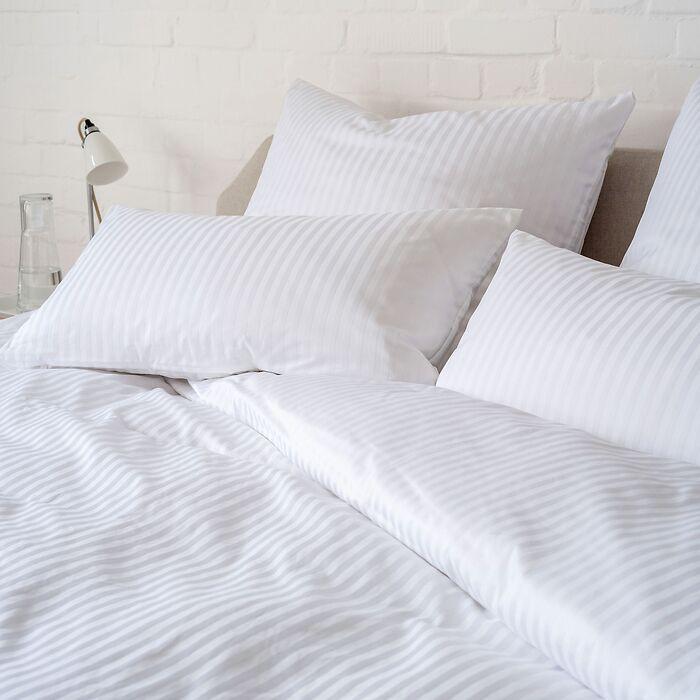 Bettbezug Baumwolldamast 155x220 cm