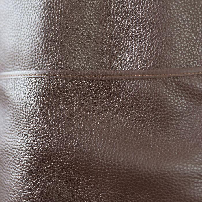 Schuhputzschürze aus Leder