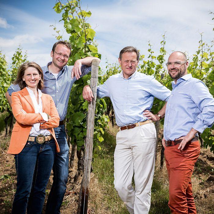 Sekt Schloß Vaux Pinot Blanc de Noirs Brut 75cl