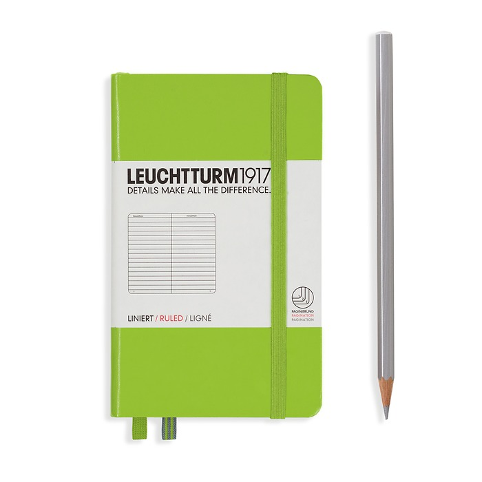 Leuchtturm1917 Notizbuch A6 liniert Limone
