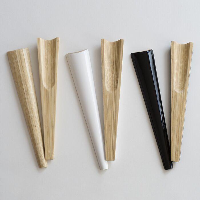 Bambus Salatbesteck natur