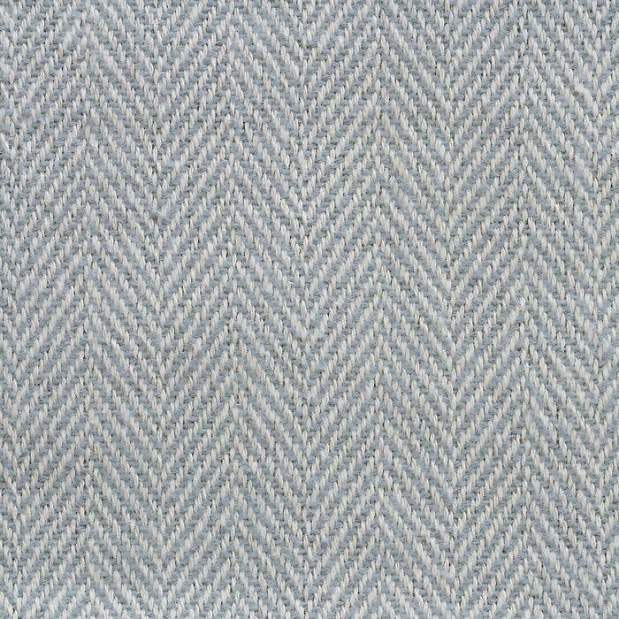 Sferra Baumwolldecke Herringbone slate blue