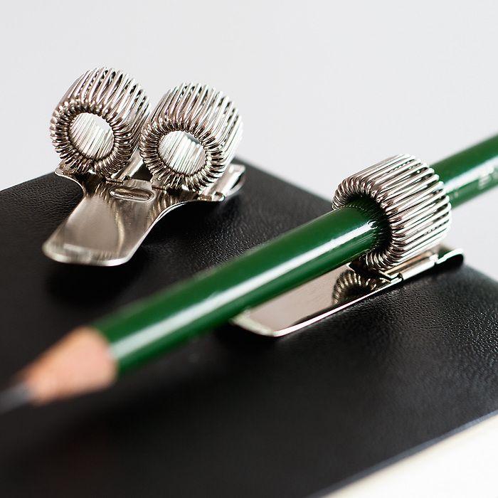 Stifthalter aus Metall für 1 Stift
