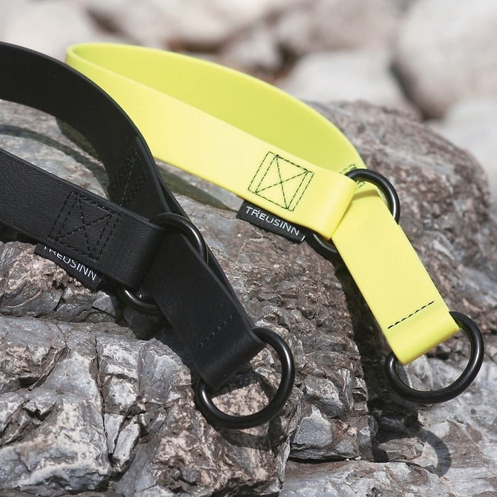 Halsband Biothane® L Neongelb