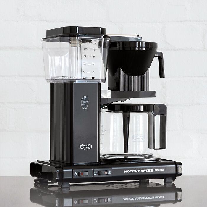 Kaffeemaschine Moccamaster KBG Select Schwarz