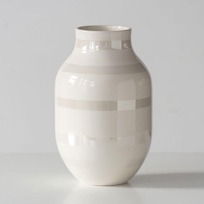 Omaggio Vase groß Granite Grey