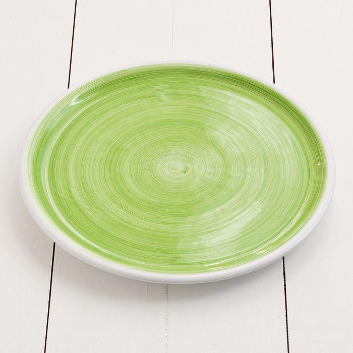 Ruggeri Brushed Verde Mela Großer Teller 30 cm
