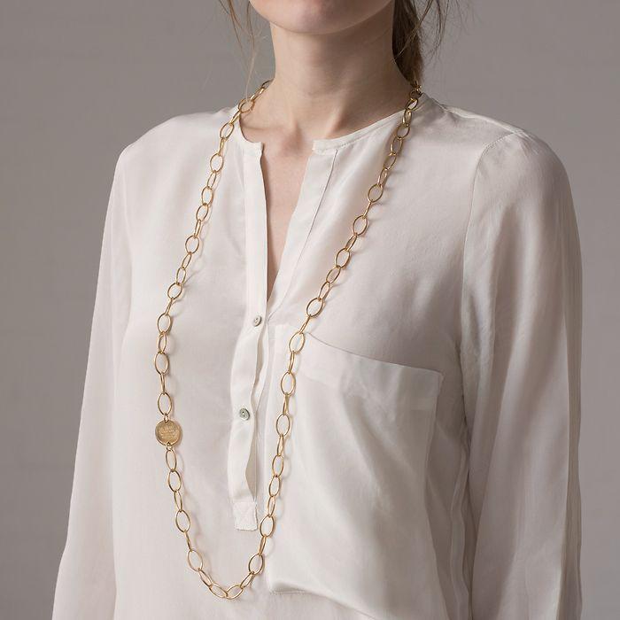 Marjana von Berlepsch Halskette Misty Silber vergoldet