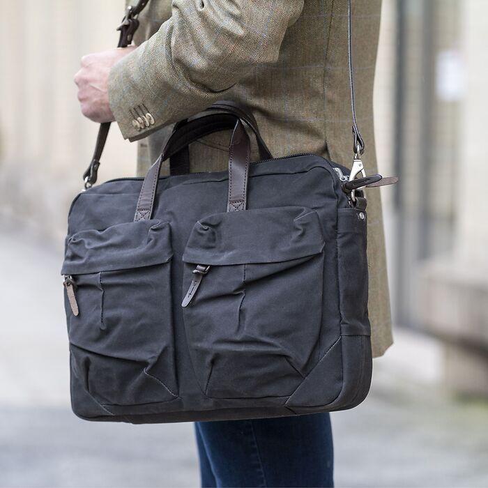 Property Of - Work Bag 'Tommy' Anthrazit