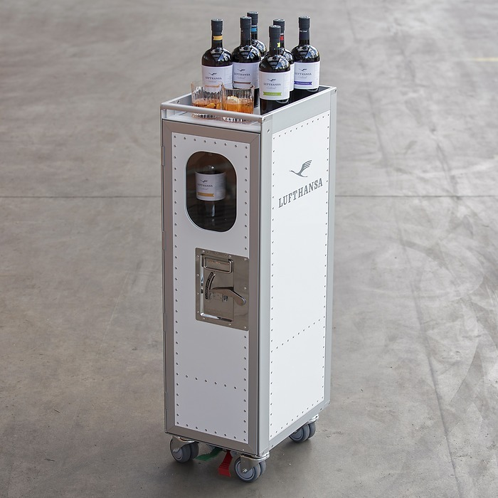 Lufthansa Cocktail Trolley
