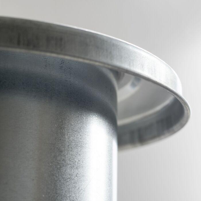 2er-Set Schneckenringe aus Metall