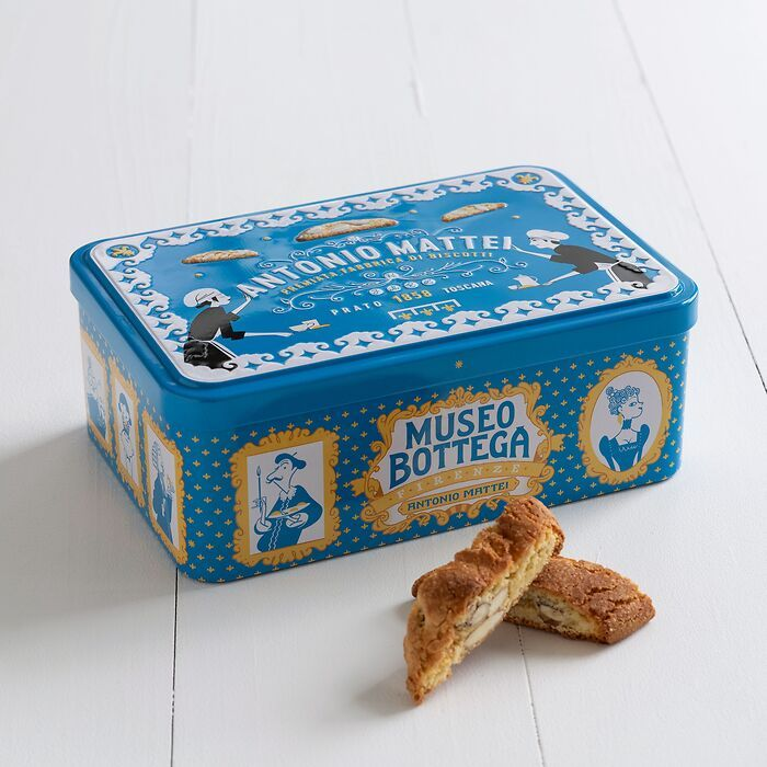 Biscotti di Prato in Metalldose 300 g