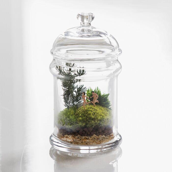 Mini-Dioramen: Naturists