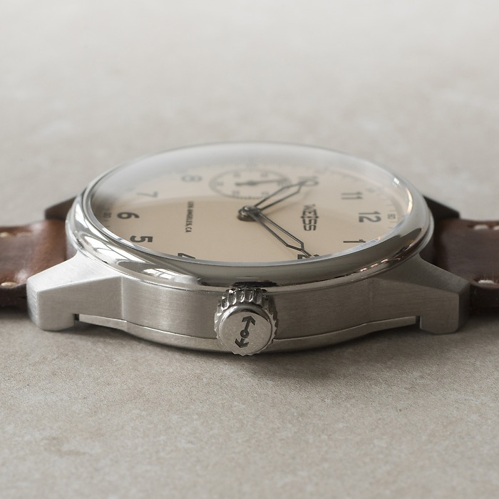 Weiss Watch Company Standard Issue Field Watch Elfenbein