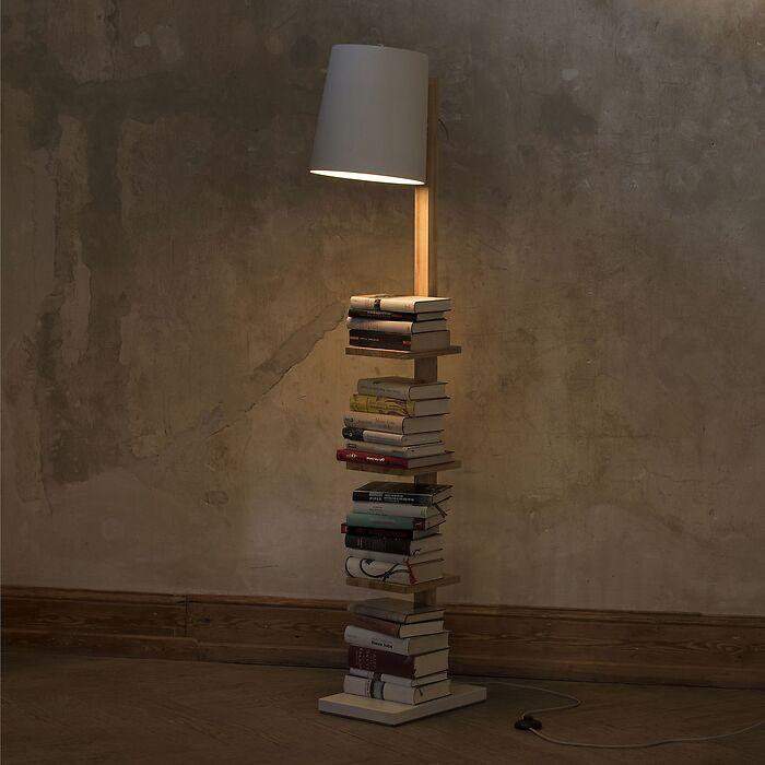 Leuchte Pile of Books Weiß