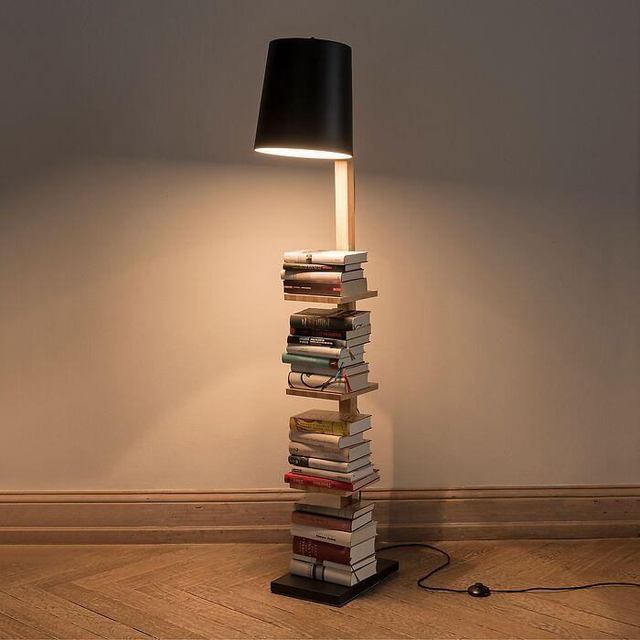 Leuchte Pile of Books Schwarz
