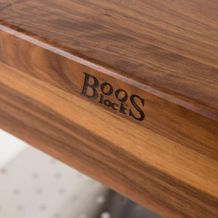 Boos Blocks: Gourmet-Küchenwagen Schwarznuss