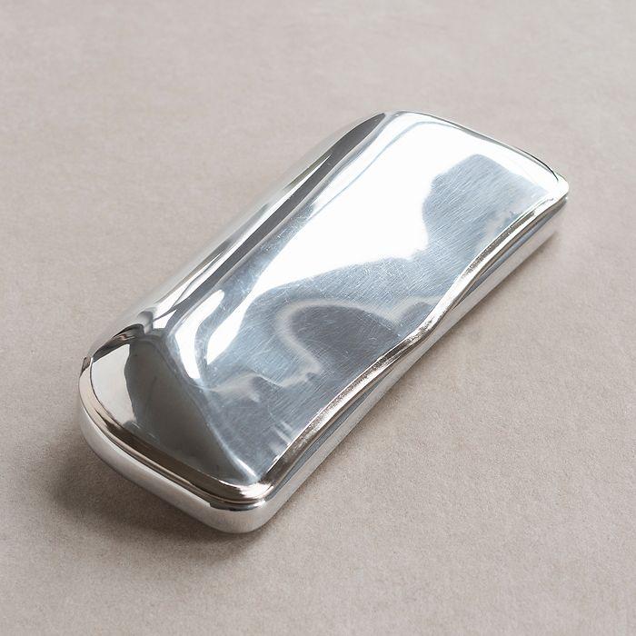 Reinhold Kühn Brillenetui Aluminium klein