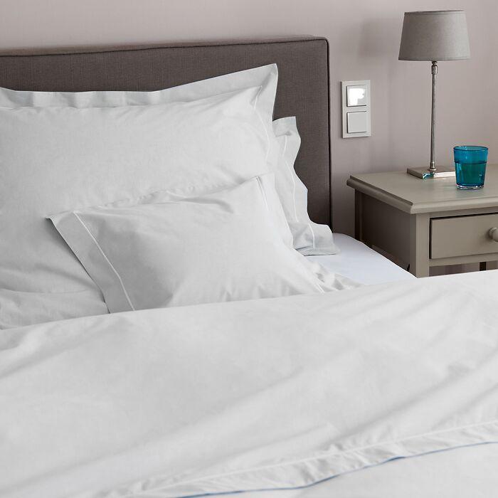 Torquato Bettbezug Perkal 200 x 200 cm Weiß