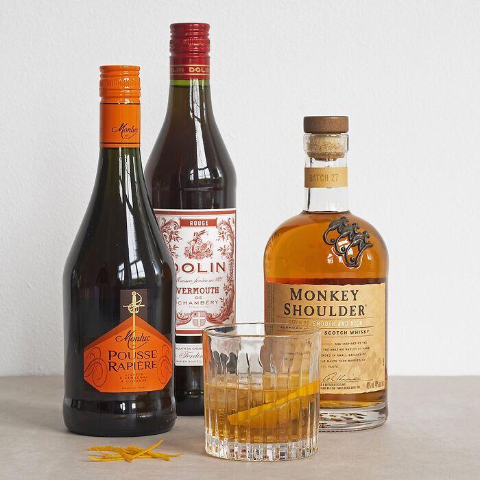Manhattan Cocktail-Set