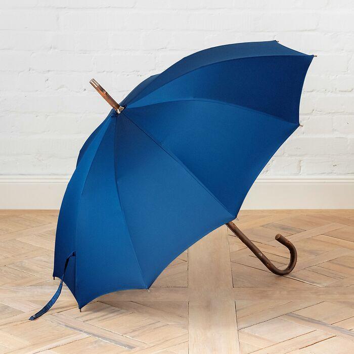Doppler-Kastanienschirm Oxford Blau